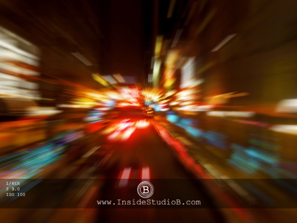 Shutter Speed Night Scene