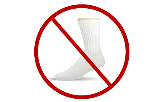 avoid-white-socks